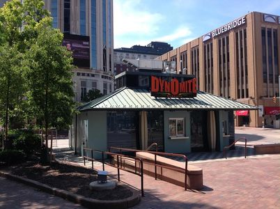 A photo of Dynomite Burgers, Playhouse Square
