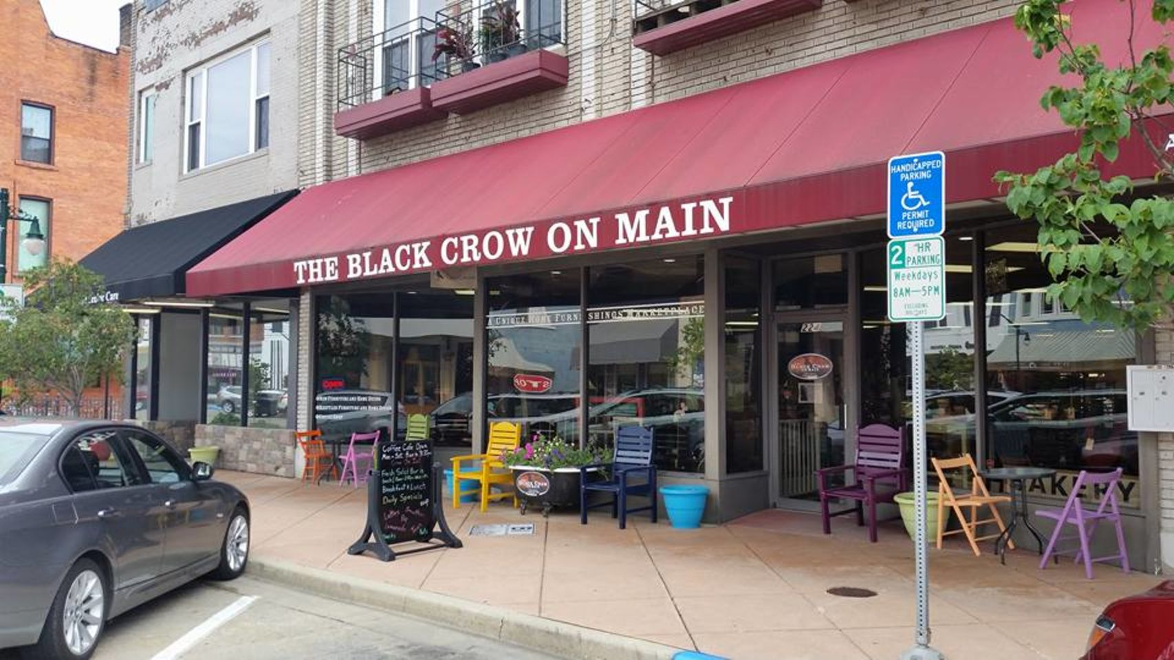 A photo of The Black Crow Café