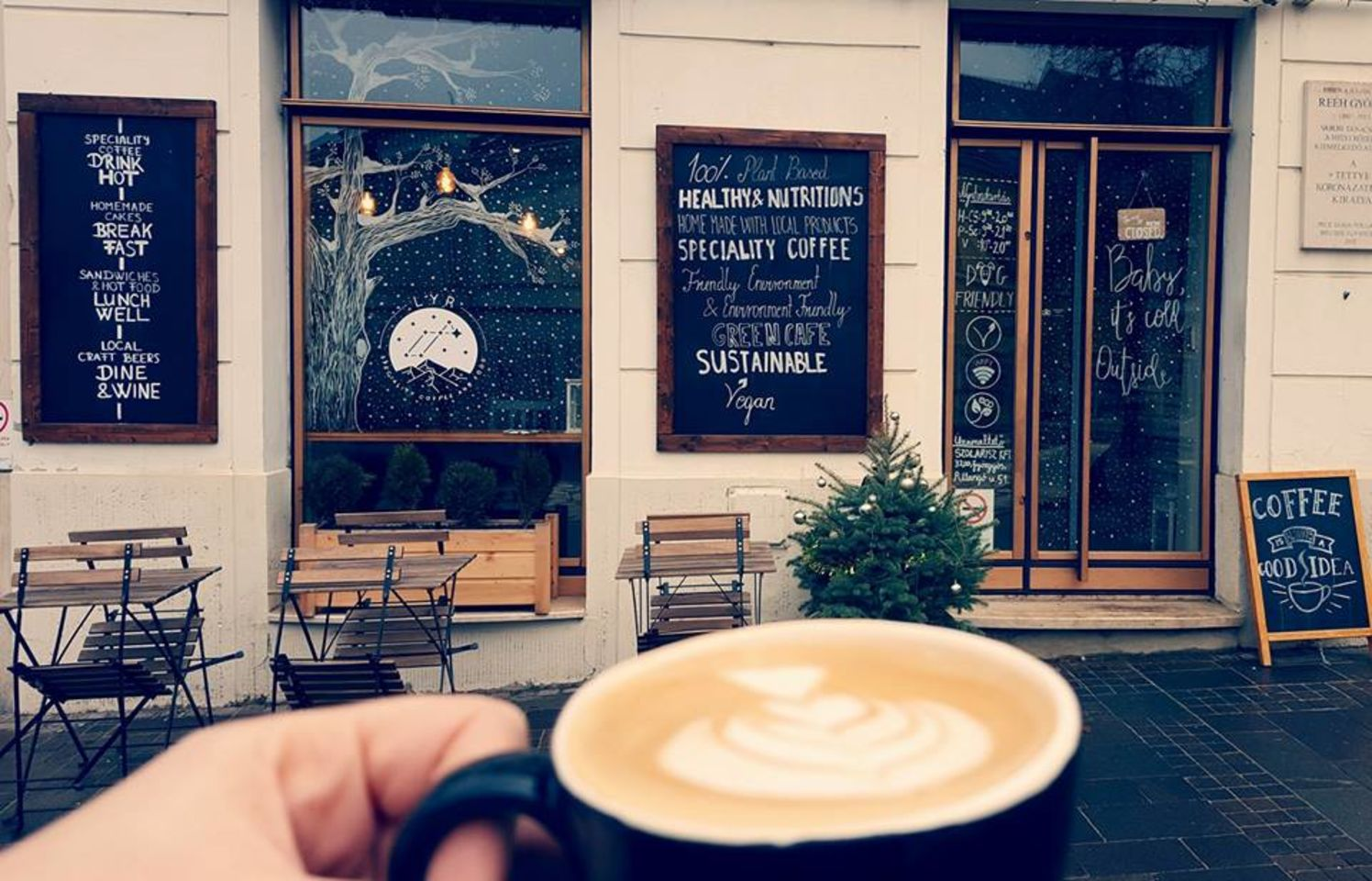 A photo of LYR Speciality Coffee & Food