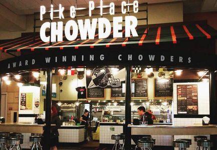A photo of Pike Place Chowder