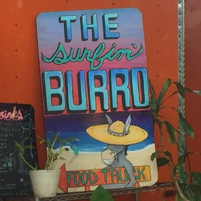 A photo of The Surfing Burro