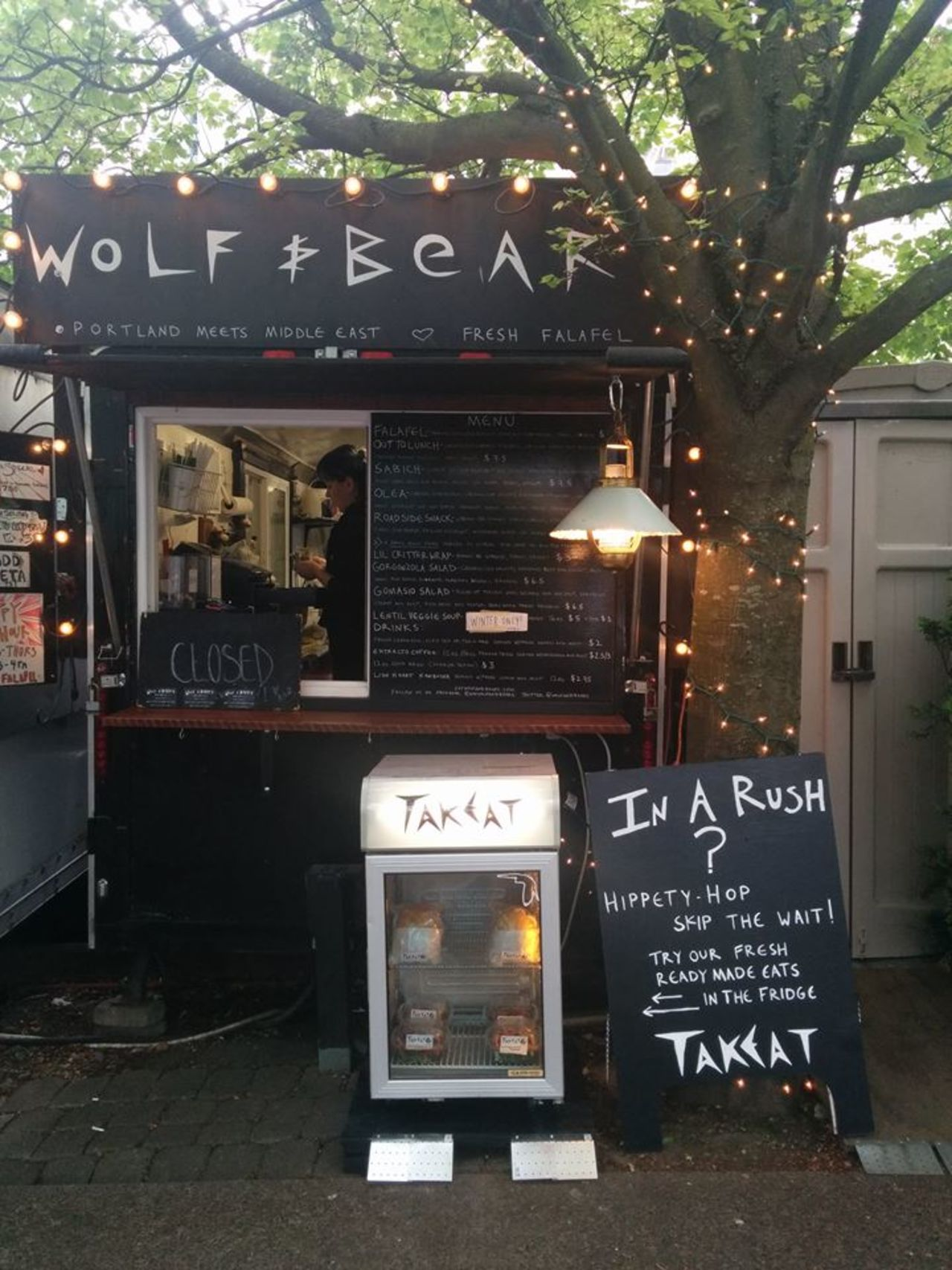 A photo of Wolf and Bear's, South East Portland