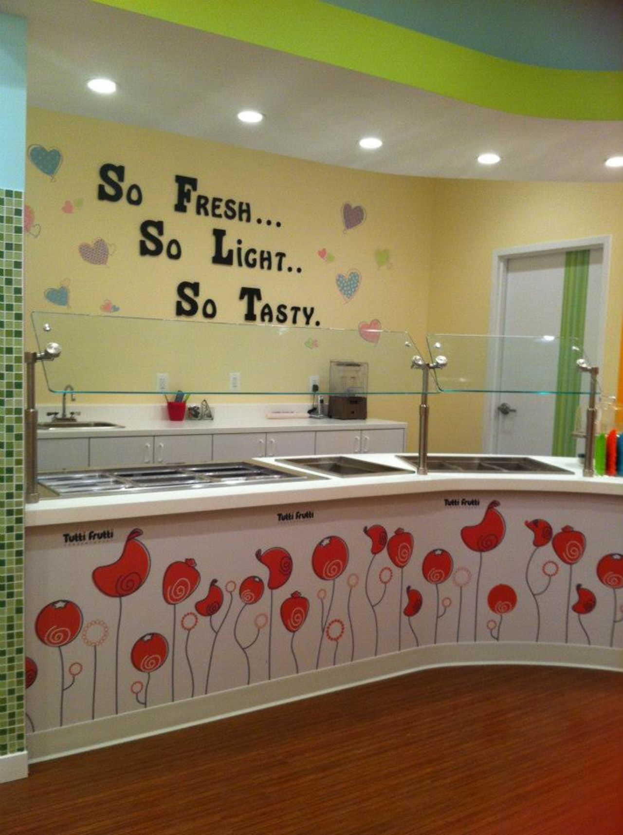 A photo of Tutti Frutti Frozen Yogurt