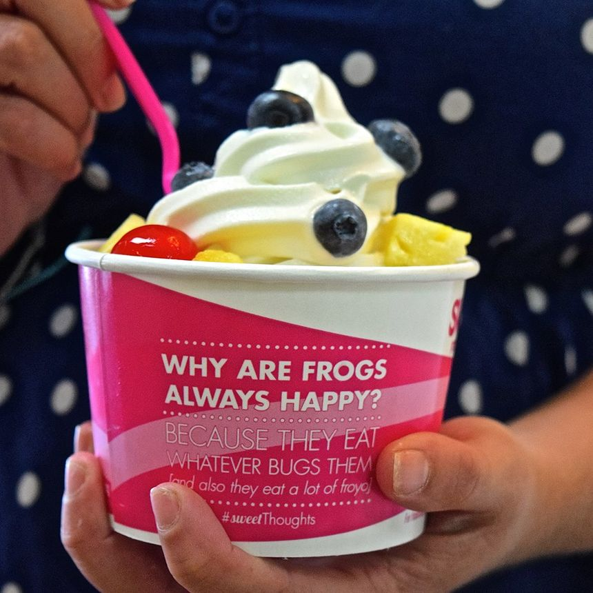 A photo of sweetFrog