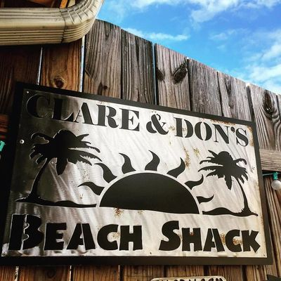 A photo of Clare and Don's Beach Shack
