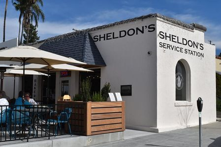 A photo of Sheldon's Service Station