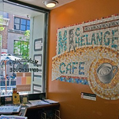 A photo of Michelangelo's Coffee House