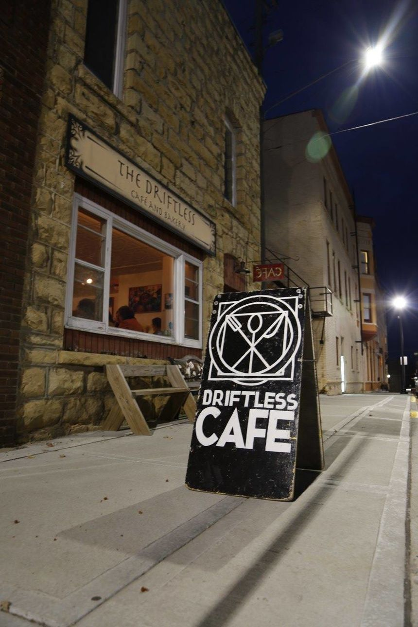 A photo of Driftless Café