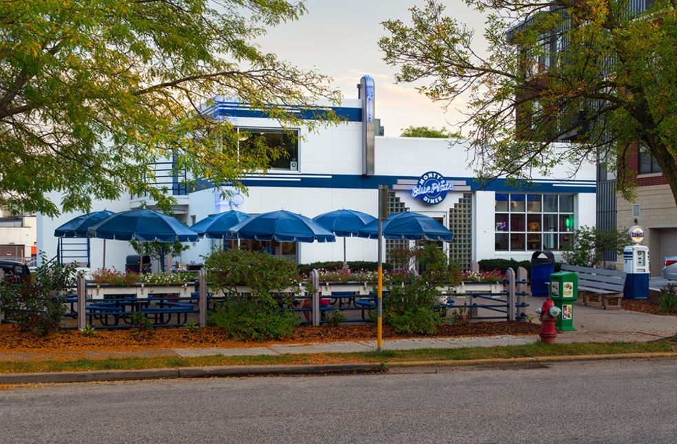 A photo of Monty's Blue Plate Diner