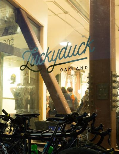 A photo of Luckyduck Bicycle Café