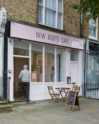 A photo of New Roots Café