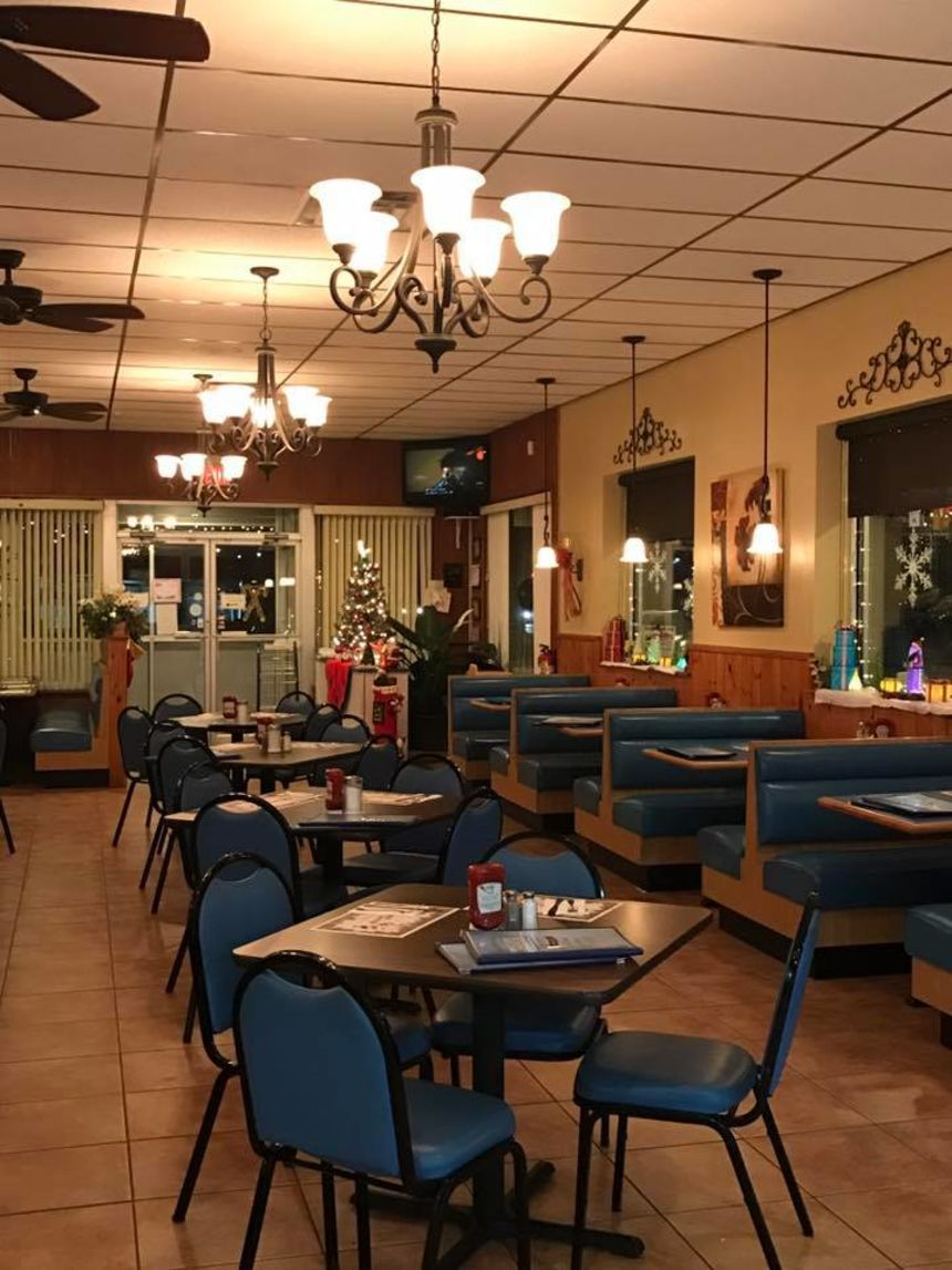 A photo of Eric's Restaurant & Pizza
