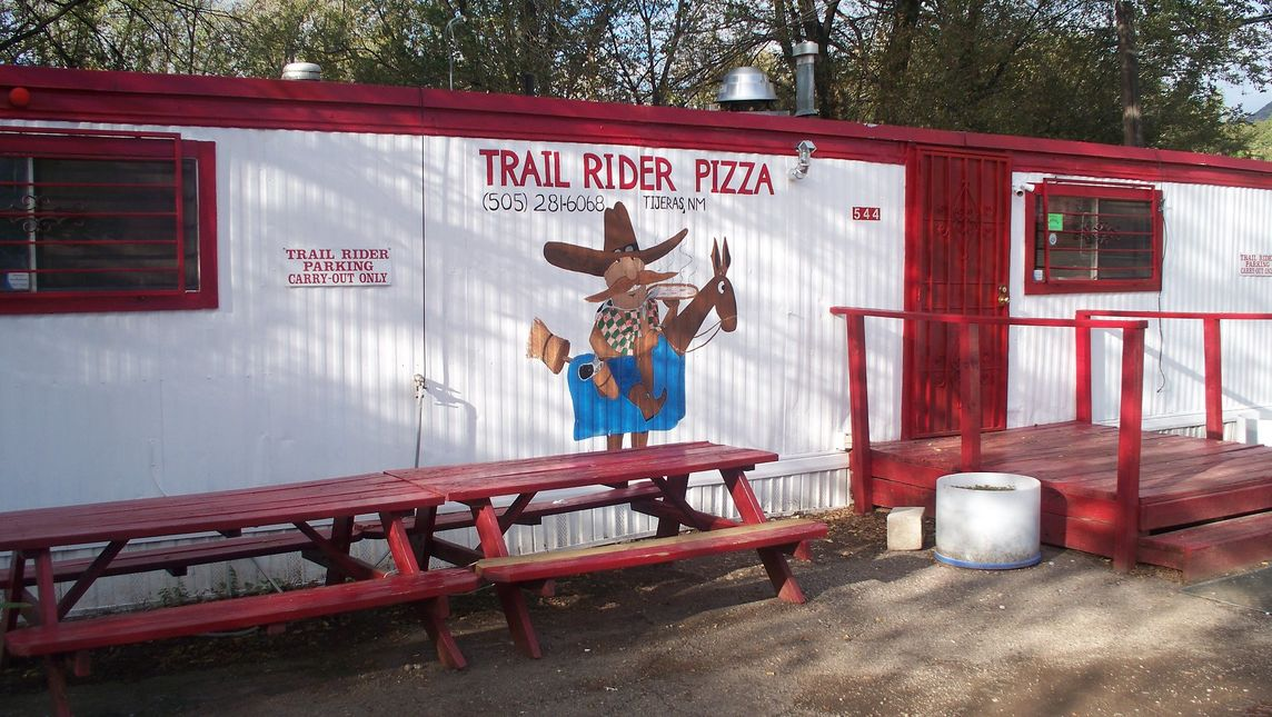 A photo of Trail Rider Pizza