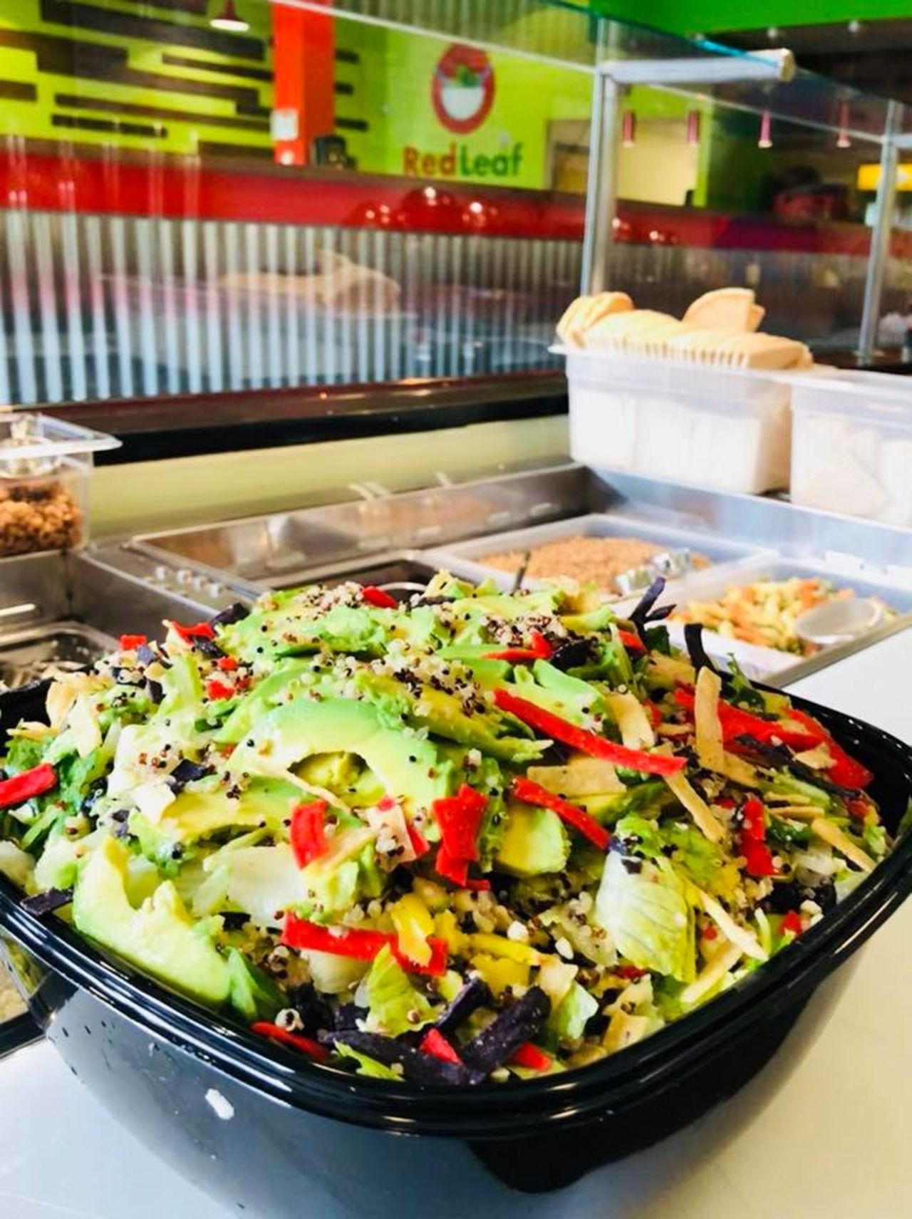 A photo of Red Leaf Salad Company