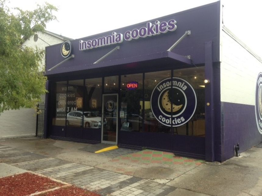 A photo of Insomnia Cookies