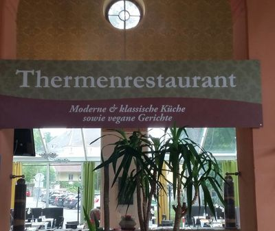 A photo of Thermenrestaurant
