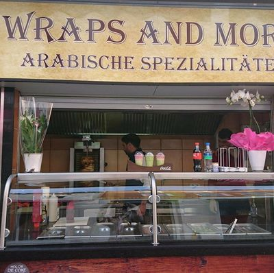A photo of wraps and more