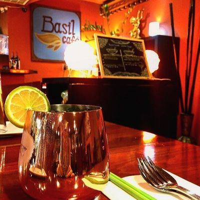 A photo of Basil Café
