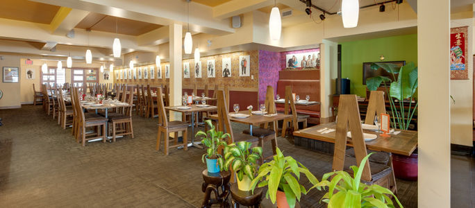 A photo of Padmanadi Vegetarian Restaurant
