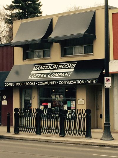 A photo of Mandolin Books & Coffee Company