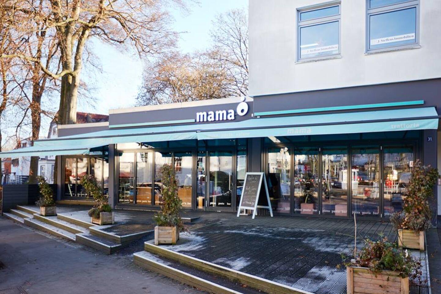 A photo of mama, Hamburg Blankenese