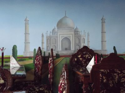 A photo of Agra