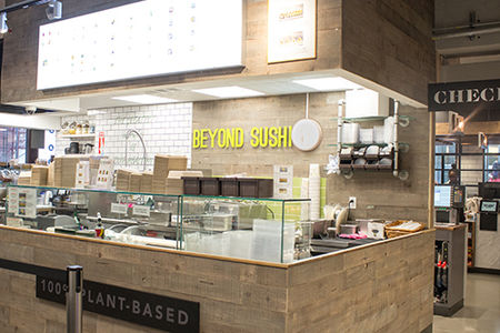 A photo of Beyond Sushi, City Acres Market
