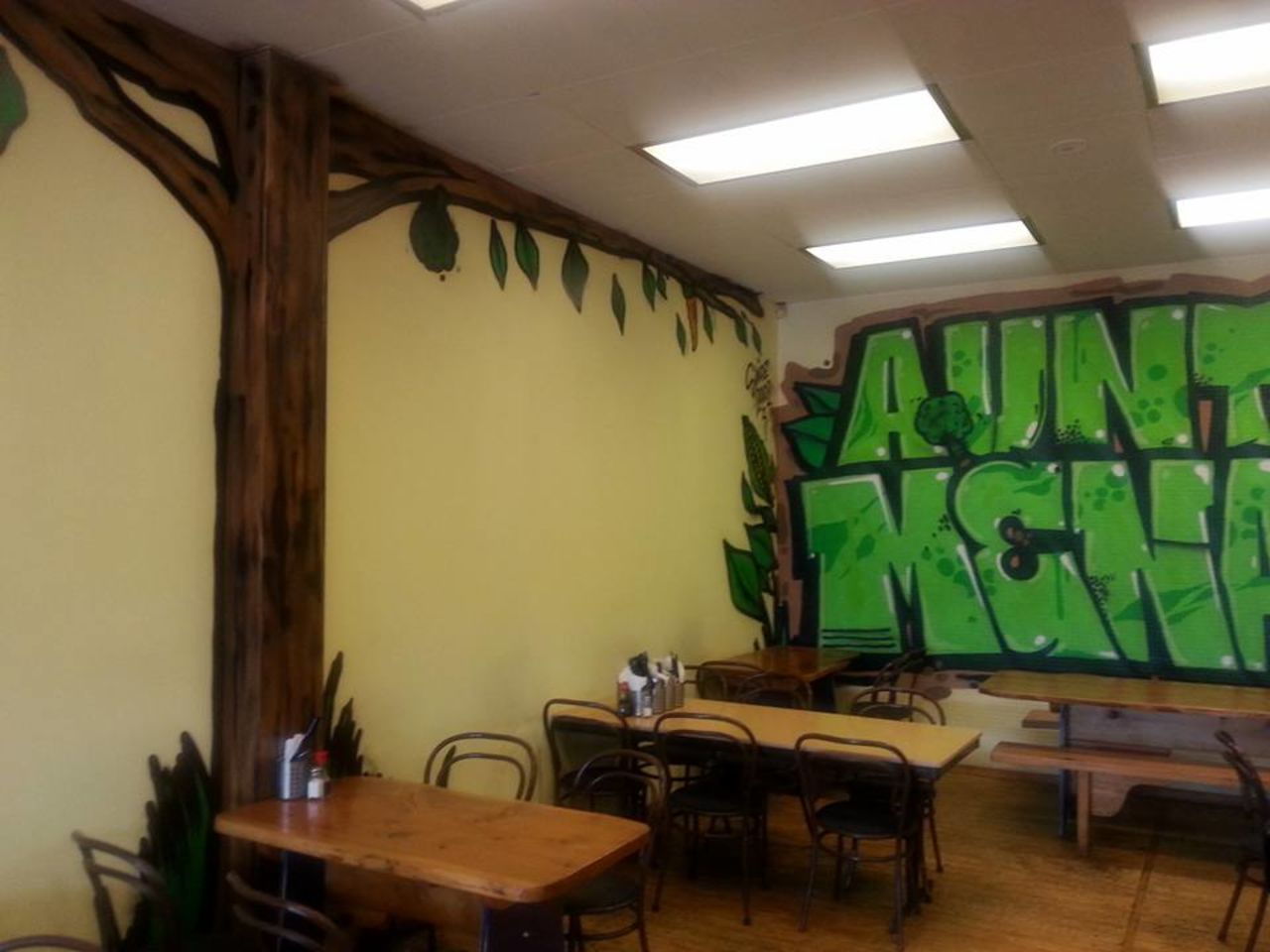 A photo of Aunty Mena's Vegetarian Cafe