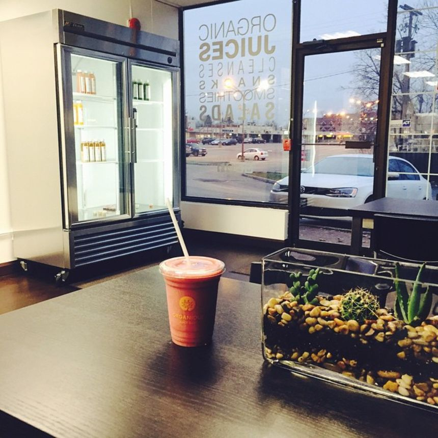 A photo of Organique Juice Bar