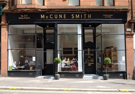 A photo of McCune Smith Café