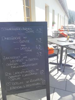 A menu of Museumscafé