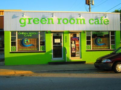 A photo of The Green Room Café