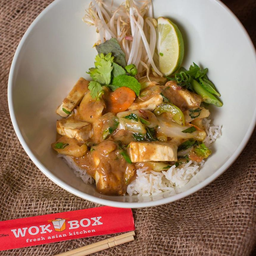 A photo of Wok Box, Spruce Grove