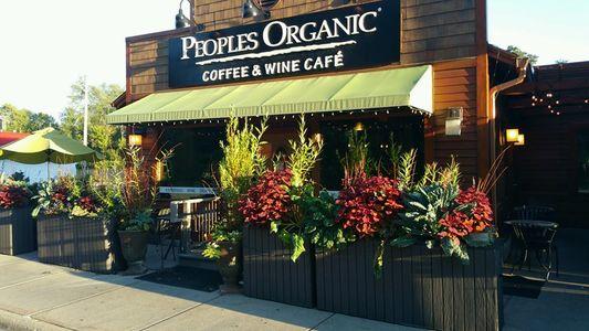 A photo of Peoples Organic Café