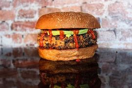 A photo of Twisted Root Burger Co.