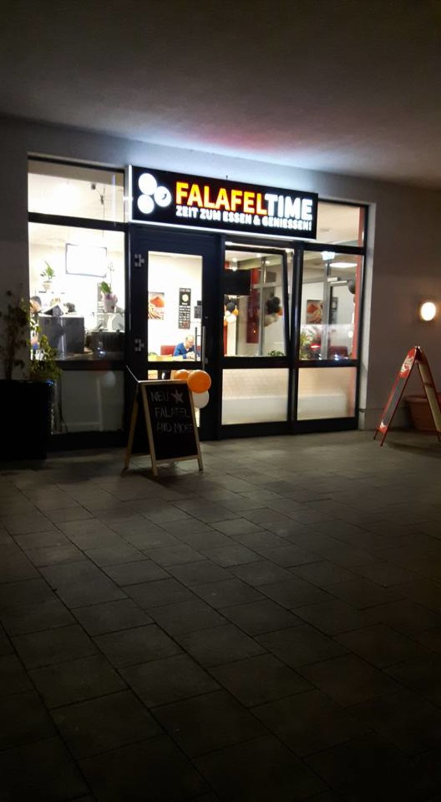 A photo of Falafel Time
