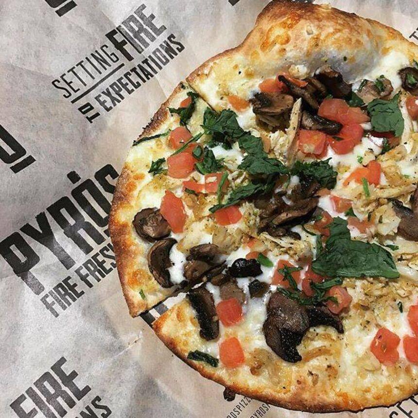 Pyro's Fire Fresh Pizza, N Germantown Parkway