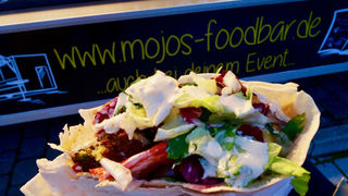 A photo of mojo's food bar