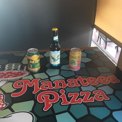 A photo of Manatees Pizza