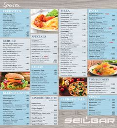 A menu of Seilbar