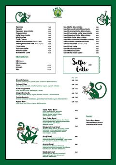 A menu of Mr Nilsson