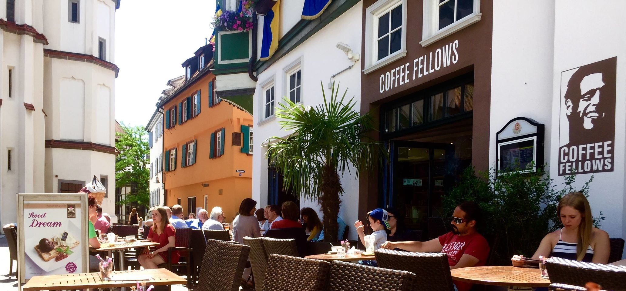 A photo of Coffee Fellows, Marktplatz