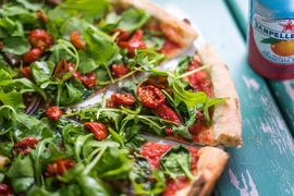 Bath Pizza Co By Green Park Brasserie In Bath Offers Vegan