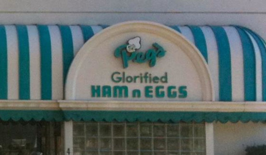 Peg's Glorified Ham N Eggs, Downtown Reno