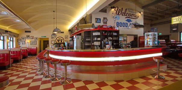A photo of Mr. Meyers Diner