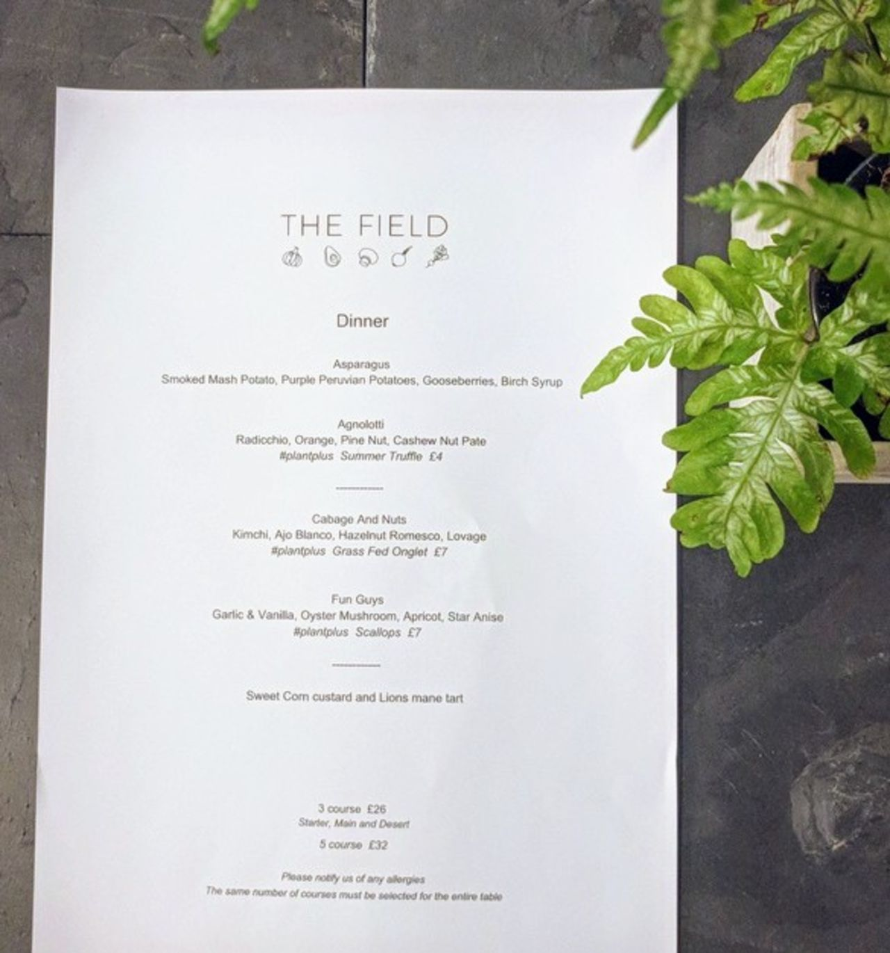 A photo of The Field Restaurant