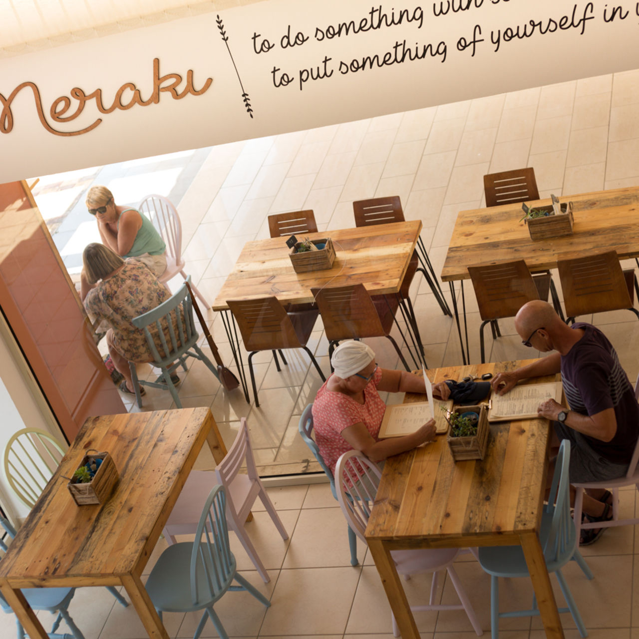 A photo of Meraki Market Café