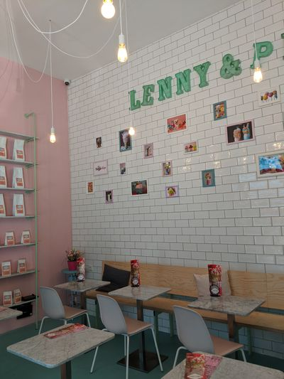 A photo of Lenny and Pino's