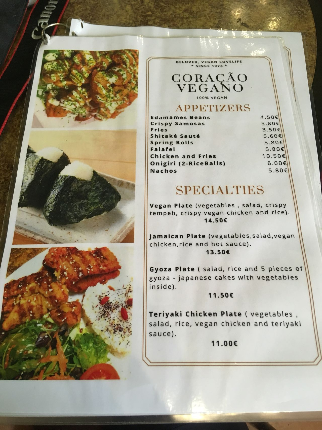 A photo of Coracao Vegano
