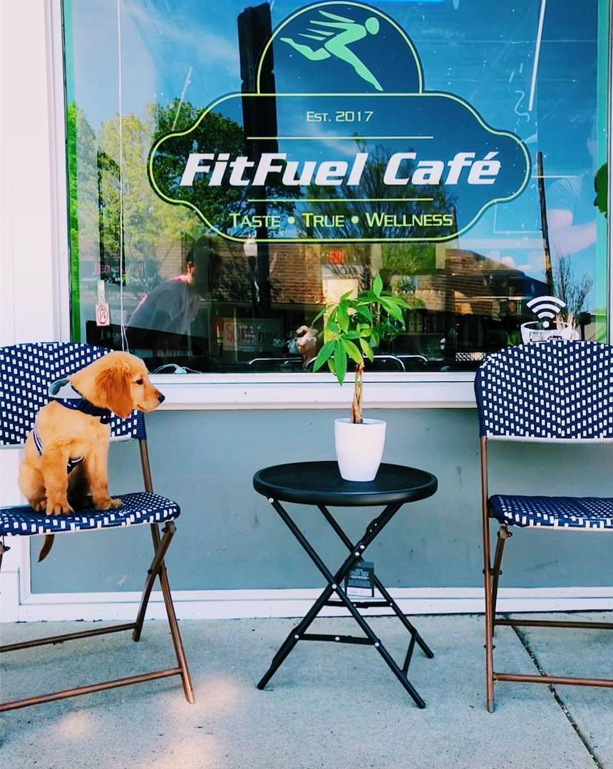 A photo of FitFuel Café